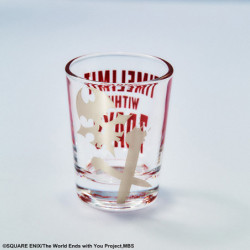 Verre à Shot Skull The World Ends with You The Animation