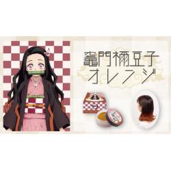 Hair Color Wax Kamado Nezuka Orange Kimetsu No Yaiba