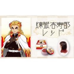 Cire Colorante Cheveux Wax Rengoku Kyojiro Red Kimetsu No Yaiba