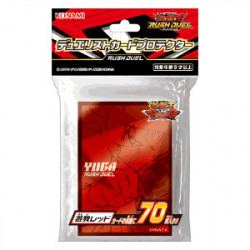 Card Sleeves Yuga Red YuGiOh Rush Duel