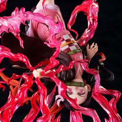 Figurine Nezuko Kamado Explosion de sang Kimetsu No Yaiba