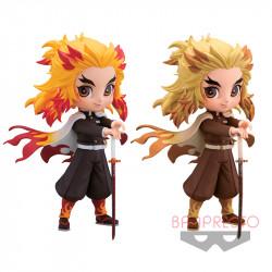 Figurine Shinjuro Rengoku Flame Purgatory Color Set Kimetsu No Yaiba Q Posket