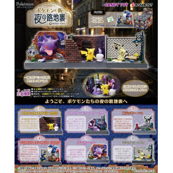 Figurines Night Alley Collection Box Pokémon Town