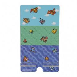 Support  Smarthphone Acrylique Pokémon Pixel Art