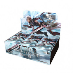 Opus XIII Crystal Radiance! Display Final Fantasy TCG English Ver.