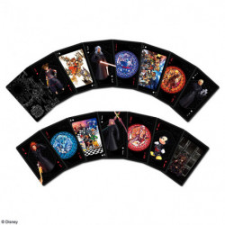 Cartes à jouer Kingdom Hearts
