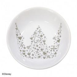 Assiette  L Crown Blanche Kingdom Hearts