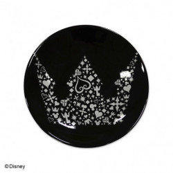 Assiette S Crown Black Kingdom Hearts