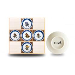 Plates Arita Porcelain Set Romancing Saga
