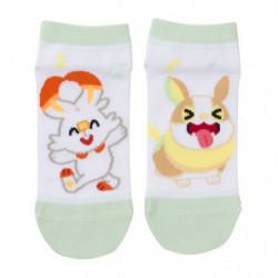 Short Socks Scorbunny and Yamper Pokémon Shiny friends