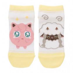 Short Socks Jigglypuff and Wooloo Pokémon Shiny friends