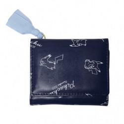 Mini Wallet Zipper Chirashi Pikachu number025