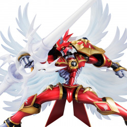 Figure Gallantmon Crimson Mode G.E.M. Digimon Tamers