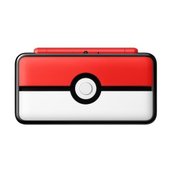 New Nintendo 2DS XL Pokeball Limited Edition japan plush