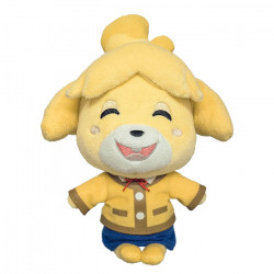 Plush Isabelle Hohoemi Animal Crossing ALL STAR COLLECTION