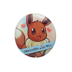 Badge EEVEE with YOU japan plush