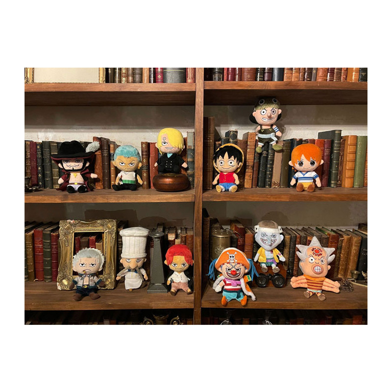 Plush Zeff One Piece ALL STAR COLLECTION - Meccha Japan