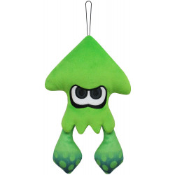 Plush Squid Neon Green Splatoon 2 ALL STAR COLLECTION