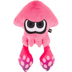 Plush Squid Neon Pink Large Splatoon 2 ALL STAR COLLECTION