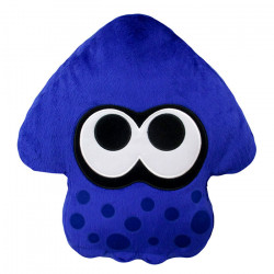 Plush Cushion Squid Bright Blue Splatoon 2 ALL STAR COLLECTION