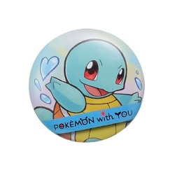 Badge SQUIRTLE with YOU japan plush