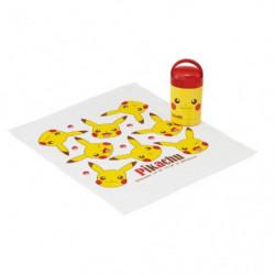 Serviette main avec Étui Pikachu face