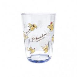 Clear Tumbler Chirashi Pikachu number025