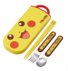 Cutlery Case Set Pikachu Face