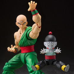 Figurine Tenshinhan et Chiaozu Dragon Ball Z Figuarts