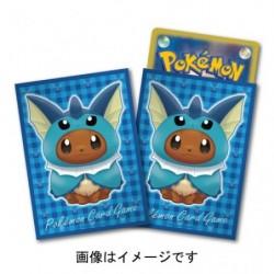 Card Sleeves Eevee Poncho Vaporeon japan plush