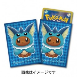 Proteges Cartes Evoli Poncho Aquali japan plush