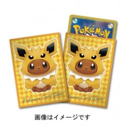 Card Sleeves Eevee Poncho Jolteon japan plush