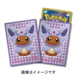 Card Sleeves Eevee Poncho Espeon japan plush