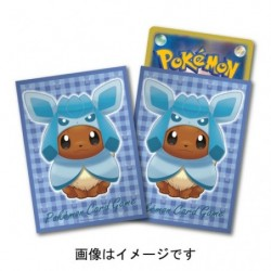 Card Sleeves Eevee Poncho Glaceon japan plush