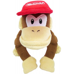 Plush Diddy Kong Super Mario ALL STAR COLLECTION