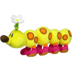 Plush Wiggler Super Mario ALL STAR COLLECTION