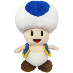 Plush Blue Toad Super Mario ALL STAR COLLECTION