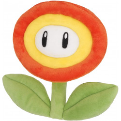 Plush Fire Flower Super Mario ALL STAR COLLECTION