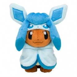 Plush Eevee Poncho Glaceon japan plush