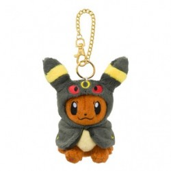 Mascot Eevee Plush Keychain Poncho Umbreon japan plush