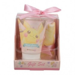 Hand Creme & Hand Towel Pikachu Flower japan plush