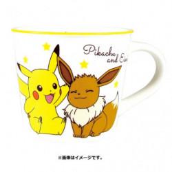 Tasse Pikachu et Évoli Color Line