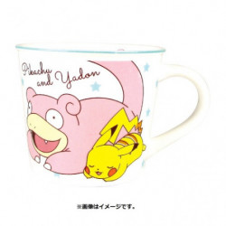 Mug Pikachu and Slowpoke Color Line