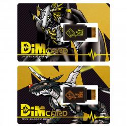 Dim Cartes Set vol.0.5 Mad Black Roar et True Shadow Howl Digimon