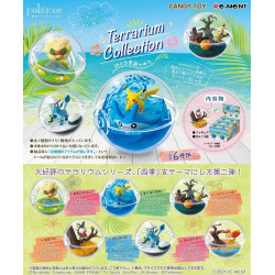 Figures Box Terrarium in the Seasons Collection Pokémon