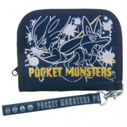 Porte-monnaie Pyrobut et Lucario Navy Pocket Monsters