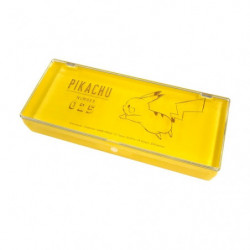 Storage Case Yellow Pikachu number025