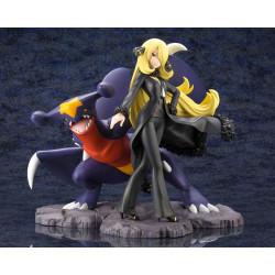 Figure Cynthia With Garchomp pokémon ARTFX J