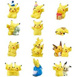 Figures Box Pokemon Kids Pikachu PikaPika Large Collection