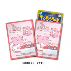 Card Sleeves Happiny Chansey and Blissey